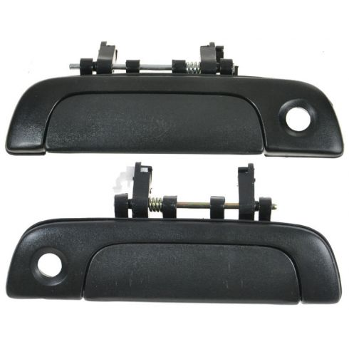 95-02 Suzuki Esteem Black Outside Front Door Handle PAIR