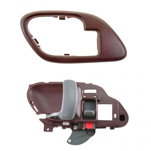 1995-02 Chev PU Truck Int Door Handle & Bezel Red LH Set