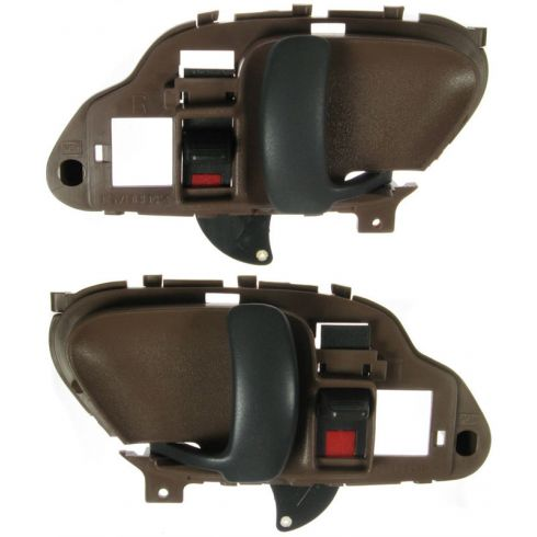 1995-02 Chev PU Truck Int Door Handle Dk Brown PAIR