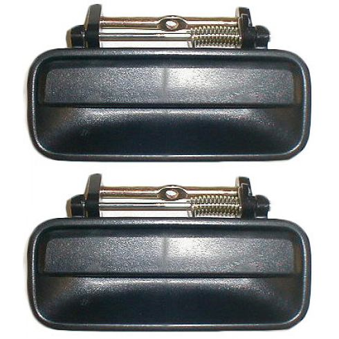 1990-93 Accord 4dr Ext Door Handle Rear PAIR