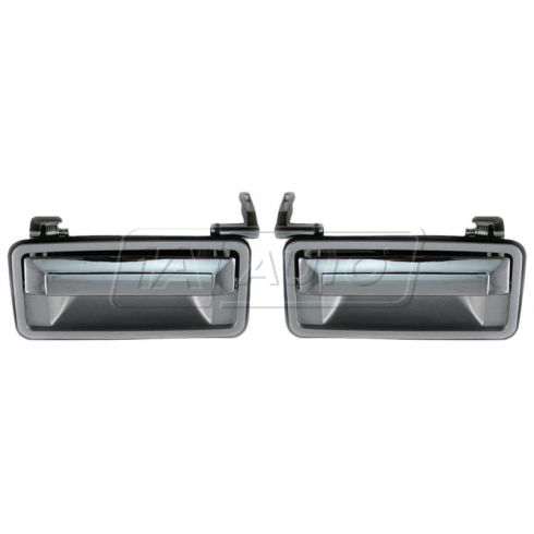 1987-93 GM Var App Ext Door Handle Chr PAIR