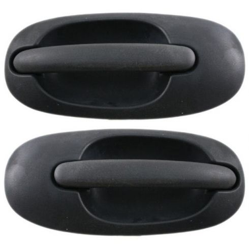 96-00 Chrysler Mini Van Sliding Door Handle w/o keyhole PAIR