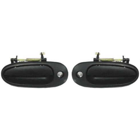 1999-04 Alero Grand Am Door Handle Outside Front PAIR