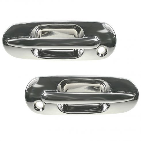 1997-01 Honda CR-V All Chrome Outside Door Handle Front PAIR