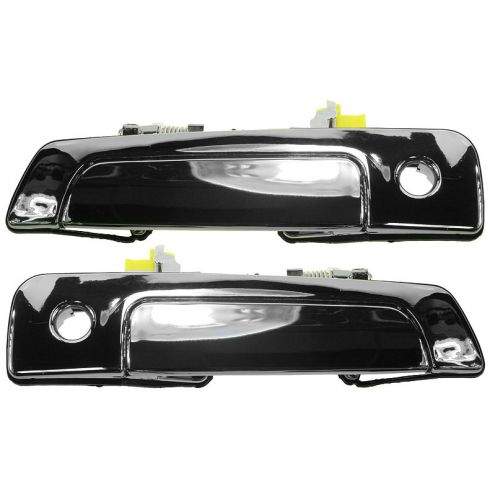 2000-04 Sebring Eclipse Coupe Chrome Door Handle Outside PAIR