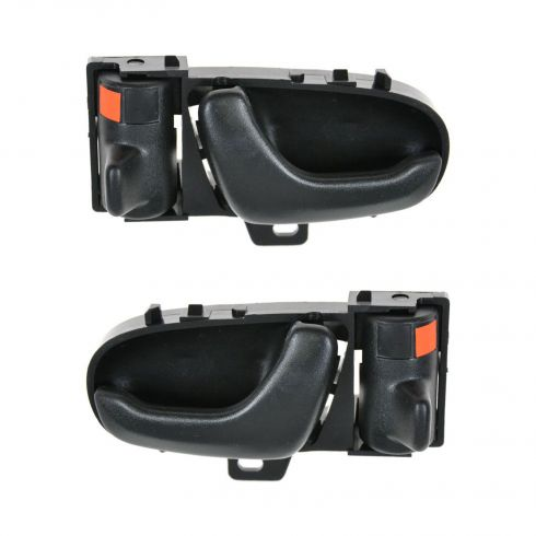 1992-94 Geo Metro Black Inside Door Handle (Front or Rear) PAIR