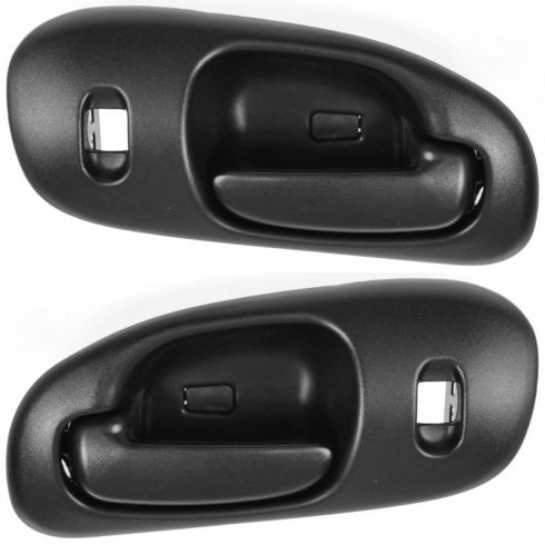 1998-04 Dodge Intrepid Black Inside Door Handle PAIR
