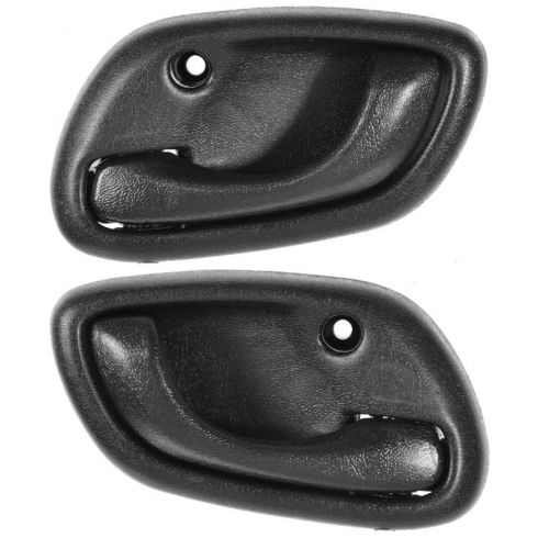 1999-04 Chevy Tracker (2 & 4dr) Inside Door Handle Black PAIR