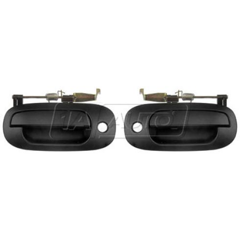 2000-01 Dodge Dakota; 98-01 Durango Ext Smooth Door Handle Front PAIR