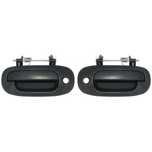 1997-99 Dodge Dakota Exterior Textured Door Handle Front PAIR