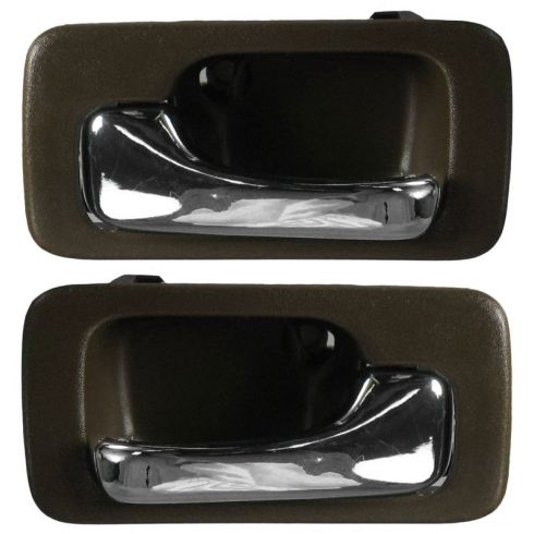 1990-93 Accord Int Door Handle Brown PAIR