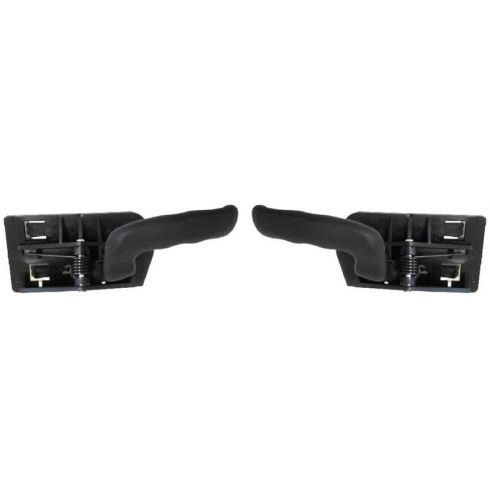 1999-07 Chevy Silverado Black Inside Door Handle PAIR