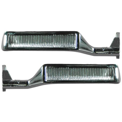 1980-86 Ford Truck Bronco Chrm Inside Door Handle PAIR
