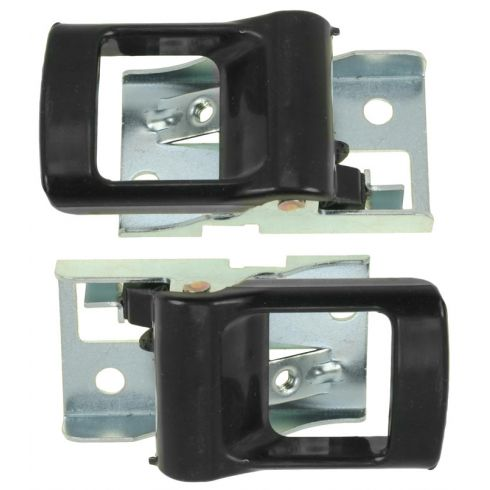 Datsun B-11 Nissan H-40 Cabstar Interior Door Handle Black PAIR