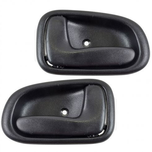 1993-97 Toyota Corolla Inside Door Handle Black PAIR