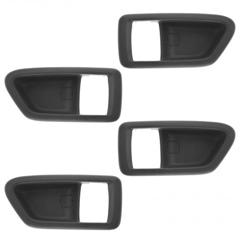 97-01 Toyota Camry Gray Inside Door Handle Bezel Set of 4