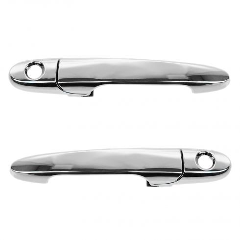 05-10 Chevy Cobalt; 07-09 Pontiac G5 Front Outside Door Handle Chrome Pair