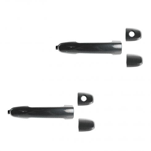 05-10 Scion TC Front Door Outside Carbon Fiber Handle PAIR