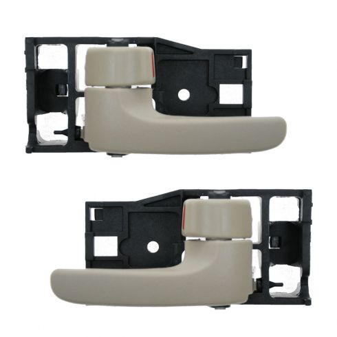 04-06 Toyota Tundra (Double Cab); 01-07 Sequoia Fawn Front Door Inside Handle PAIR