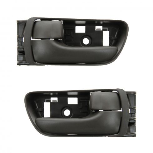 04-10 Toyota Sienna Beige Front Door Inside Handle PAIR