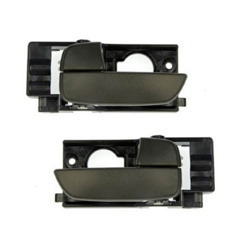2006 11 Hyundai Accent Interior Door Handle Pair 1adhs00633 At 1a