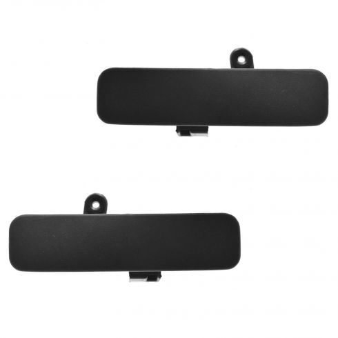 92-11 Ford Van Front Outside Textured Black Door Handle PAIR