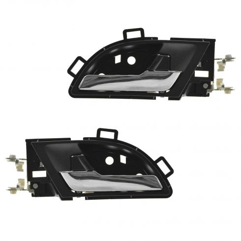 07-11 Honda CR-V (US Built) Inside Black Door Handle PAIR