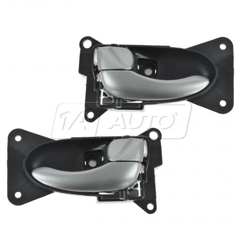 02-05 Nissan Altima Inside Frost Door Handle PAIR
