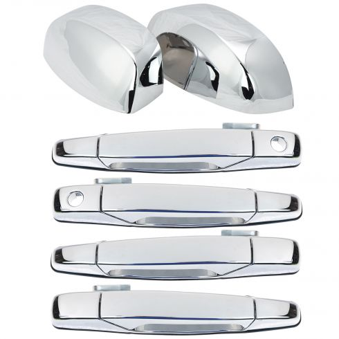 Exterior Door Handles & Mirror Cap Trim Kit