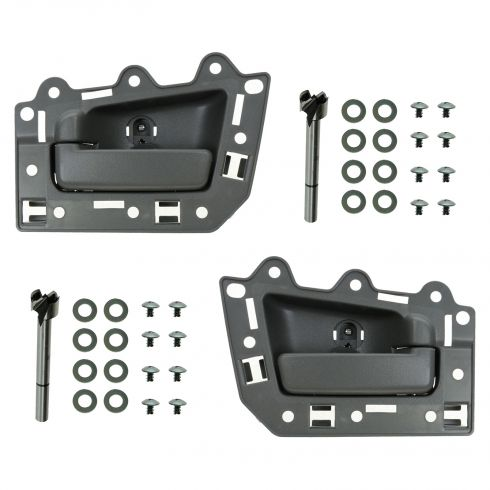 05-10 Jeep Grand Cherokee Rear Inner All Gray Door Handle Repair Kit PAIR