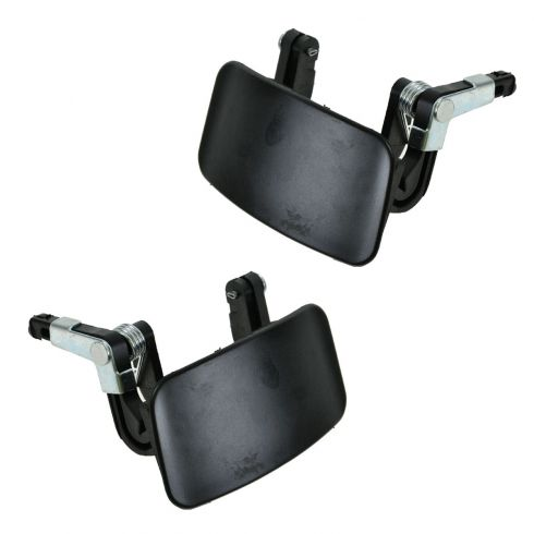99-02 Mercury Villager, Nissan Quest Sliding Door Black Outside Handle PAIR