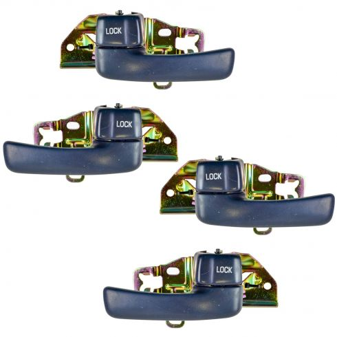 1992-96 Camry Door Handle Inside Blue (Set of 4)