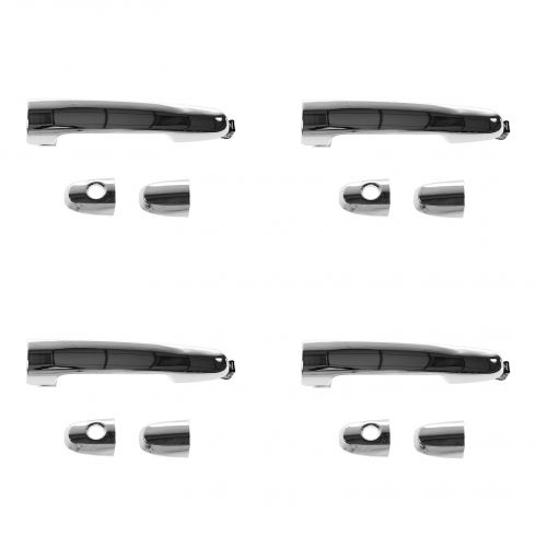 02-03 ES300; 04-06 ES330; 02-06 Camry Outside Chrome Door Handle SET of 4