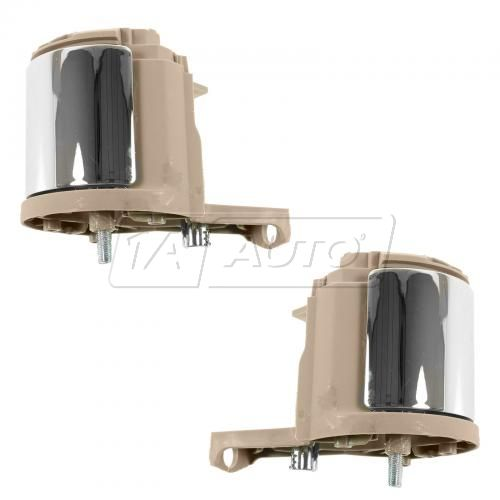 06 Ford Explorer, Mercury Mountaineer Front Inner (Camel w/Chrome Lever) Door Handle PAIR