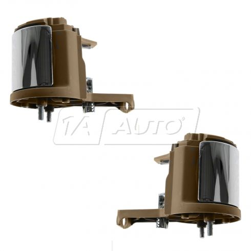 07-10 Ford Explorer, Mercury Mountaineer Front Inner (Camel w/Chrome Lever) Door Handle PAIR