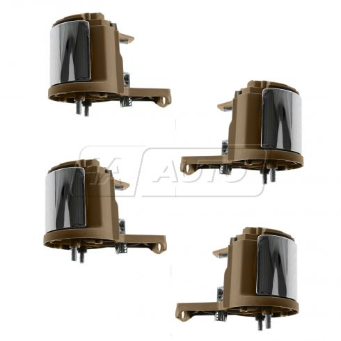 07-10 Explorer, Mountaineer Front & Rear Inner (Camel w/Chrome Lever) Door Handle (Set of 4)
