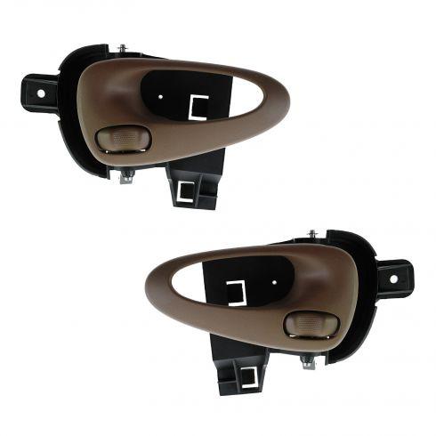 99-05 Pontiac Grand Am (2 or 4dr) Front Inner Oak Door Handle PAIR