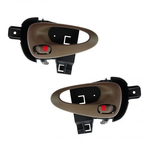 99-05 Pontiac Grand Am (2 or 4dr) Front Inner Neutral Door Handle PAIR