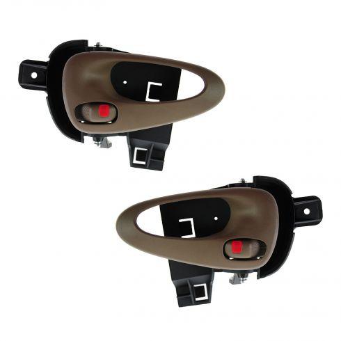 99-05 Pontiac Grand Am (2 or 4dr) Front Inner Neutral Door Handle PAIR