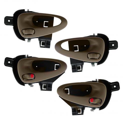 99-05 Pontiac Grand Am Front & Rear Inner Oak Door Handle (Set of 4)