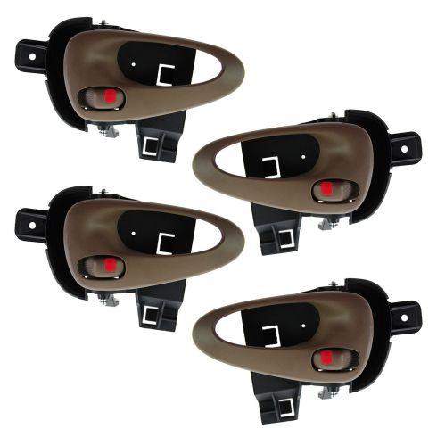99-05 Pontiac Grand Am Front & Rear Inner Neutral Door Handle (Set of 4)