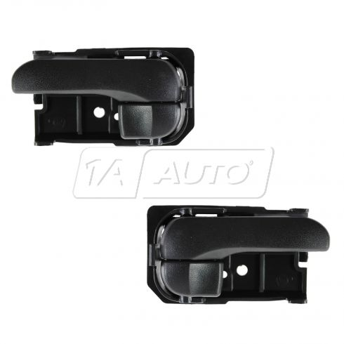 95-99 Nissan Maxima RF = RR; 95-98 240SX Inner Black Door Handle PAIR