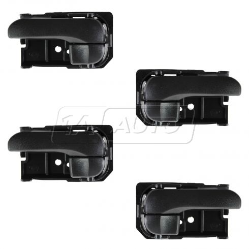 95-99 Nissan Maxima RF = RR Inner Black Door Handle SET of 4