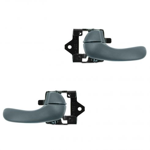 97-05 Buick Century; 97-04 Regal Front or Rear Inner Blue Door Handle PAIR