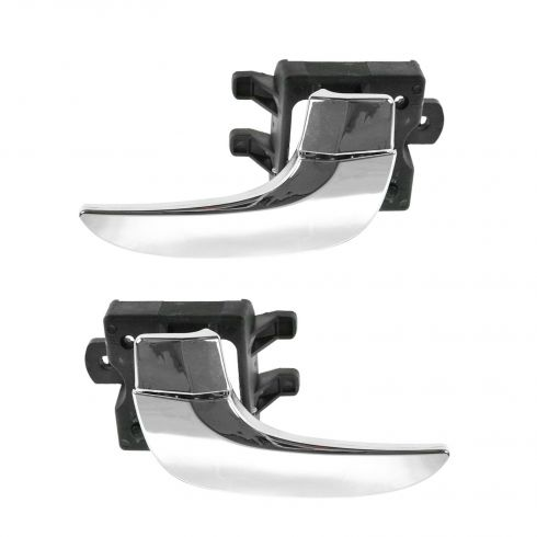 02-07 Buick Rendezvous Front or Rear Inner Chrome Door Handle PAIR