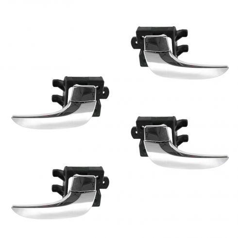 02-07 Buick Rendezvous Front & Rear Inner Chrome Door Handle Kit (Set of 4)