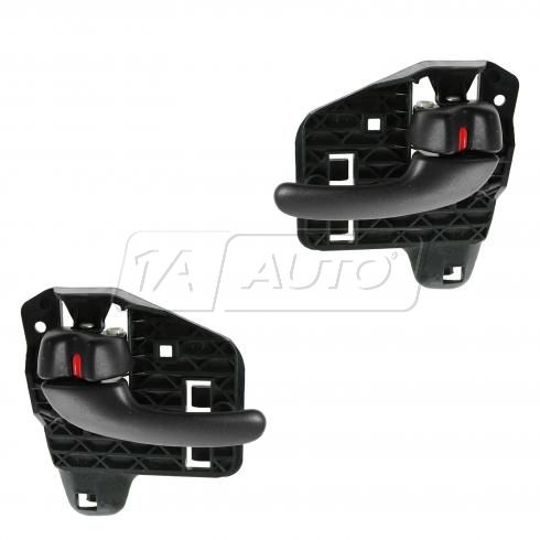00-05 Pontiac Bonneville Front or Right Inner Black Door Handle PAIR