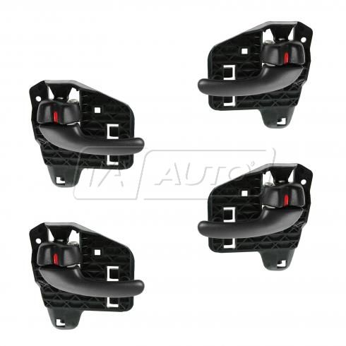 00-05 Pontiac Bonneville Inner Black Door Handle Kit (Set of 4)