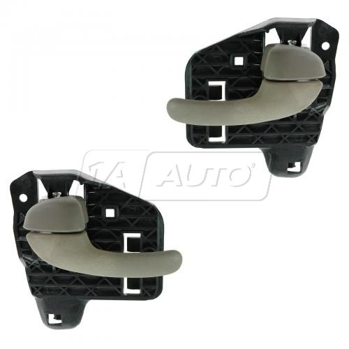 00-05 Buick Lesabre Front or Rear Inner Beige Door Handle PAIR