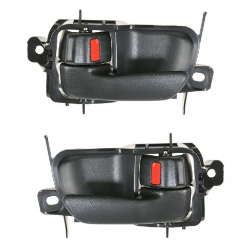 95-99 Toyota Avalon Front or Rear Black Inside Door Handle PAIR
